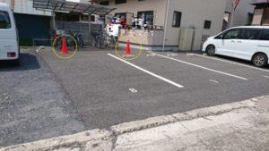 小川町 強い女 駐車場
